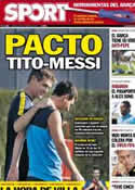 Portada diario Sport del 18 de Octubre de 2012