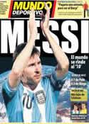 Portada Mundo Deportivo del 18 de Octubre de 2012