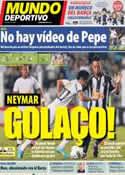 Portada Mundo Deportivo del 19 de Octubre de 2012
