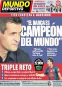 Portada Mundo Deportivo del 20 de Octubre de 2012