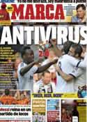 Portada diario Marca del 21 de Octubre de 2012