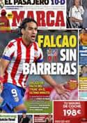 Portada diario Marca del 22 de Octubre de 2012