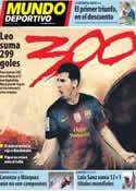 Portada Mundo Deportivo del 22 de Octubre de 2012