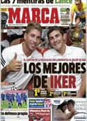 Portada diario Marca del 23 de Octubre de 2012