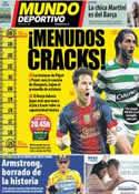 Portada Mundo Deportivo del 23 de Octubre de 2012