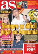 Portada diario AS del 24 de Octubre de 2012