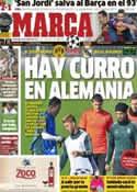 Portada diario Marca del 24 de Octubre de 2012