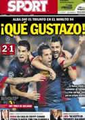 Portada diario Sport del 24 de Octubre de 2012