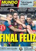 Portada Mundo Deportivo del 24 de Octubre de 2012