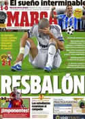 Portada diario Marca del 25 de Octubre de 2012
