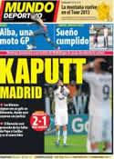 Portada Mundo Deportivo del 25 de Octubre de 2012