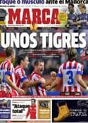 Portada diario Marca del 26 de Octubre de 2012