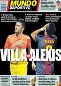 Portada Mundo Deportivo del 26 de Octubre de 2012