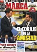 Portada diario Marca del 27 de Octubre de 2012