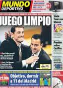 Portada Mundo Deportivo del 27 de Octubre de 2012