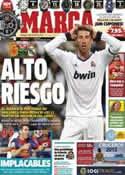 Portada diario Marca del 28 de Octubre de 2012
