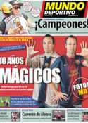 Portada Mundo Deportivo del 29 de Octubre de 2012