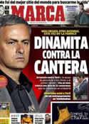 Portada diario Marca del 31 de Octubre de 2012