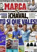 Portada diario Marca del 1 de Noviembre de 2012