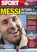 Portada diario Sport del 1 de Noviembre de 2012