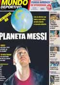 Portada Mundo Deportivo del 1 de Noviembre de 2012