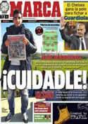Portada diario Marca del 2 de Noviembre de 2012