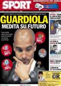 Portada diario Sport del 2 de Noviembre de 2012