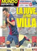 Portada Mundo Deportivo del 2 de Noviembre de 2012