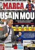 Portada diario Marca del 3 de Noviembre de 2012