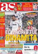 Portada diario AS del 4 de Noviembre de 2012