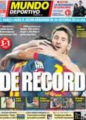 Portada Mundo Deportivo del 4 de Noviembre de 2012