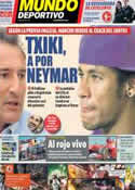 Portada Mundo Deportivo del 5 de Noviembre de 2012