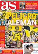 Portada diario AS del 6 de Noviembre de 2012