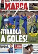 Portada diario Marca del 6 de Noviembre de 2012