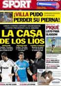 Portada diario Sport del 6 de Noviembre de 2012