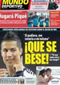Portada Mundo Deportivo del 6 de Noviembre de 2012