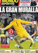 Portada Mundo Deportivo del 8 de Noviembre de 2012