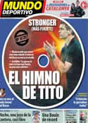 Portada Mundo Deportivo del 9 de Noviembre de 2012