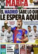 Portada diario Marca del 11 de Noviembre de 2012