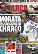Portada diario Marca del 12 de Noviembre de 2012