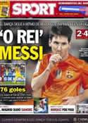 Portada diario Sport del 12 de Noviembre de 2012