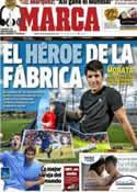 Portada diario Marca del 13 de Noviembre de 2012