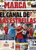 Portada diario Marca del 14 de Noviembre de 2012