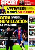 Portada diario Sport del 14 de Noviembre de 2012