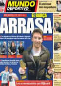 Portada Mundo Deportivo del 14 de Noviembre de 2012