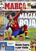 Portada diario Marca del 15 de Noviembre de 2012