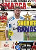 Portada diario Marca del 16 de Noviembre de 2012