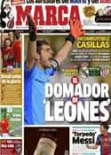 Portada diario Marca del 17 de Noviembre de 2012