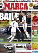 Portada diario Marca del 18 de Noviembre de 2012