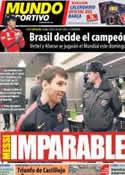 Portada Mundo Deportivo del 19 de Noviembre de 2012